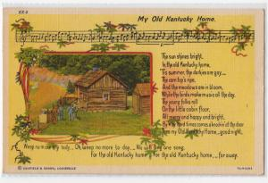 Music - Song, My Old Kuntucky Home