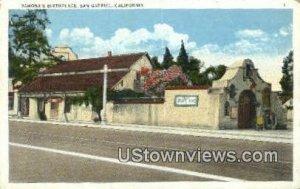 Ramona's Birthplace - San Gabriel, CA