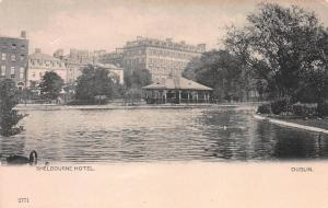 Shelbourne Hotel, Dublin, Ireland, Early Postcard, Undivided Back
