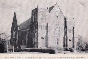 The Stone Church Reorganized Latter Day Saints Independence Missouri