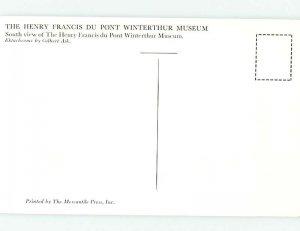 Pre-1980 MUSEUM SCENE Winterthur - By Wilmington Delaware DE AG1286