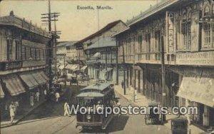 Escolta Manila Philippines Unused