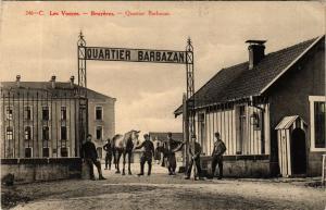 CPA 246 - C BRUYERES Quartier Barbazan (405631)