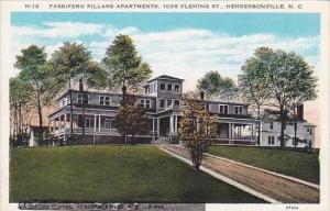 North Carolina Hendersonville Fassifern Pillars Apartments 1035 Fleming Street