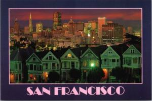 Steiner Street San Francisco CA California Unused Vintage Postcard D37