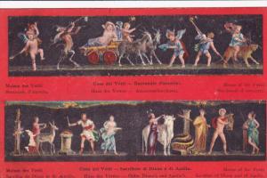 House Of The Vettii, Sacrifice Of Diana And Of Apollo, Italy, 1900-1910s