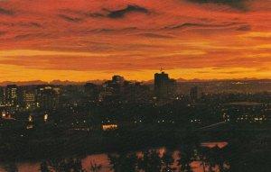 CALGARY , Alberta , Canada , 50-60s ; Sunset