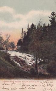 Emersons Falls Sleepers River Saint Johnsbury Vermont 1906