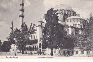 CONSTANTINOPLE, Turkey, 1900-1910´s; Mosquee Suleymanie