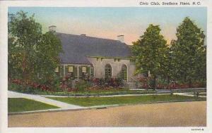 North Carolina Southern Pines Civic Club Curteich