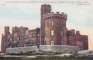 NEWPORT, Rhode Island, 1900-1910's; Ex-Governor Charles Warren Lippet's Resid...