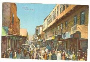 Street scene of Caire, Egypt, Africa,1900-10s