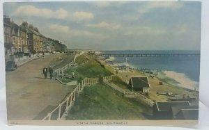 Vintage Tucks Postcard North Parade Southwold Suffolk 1950s