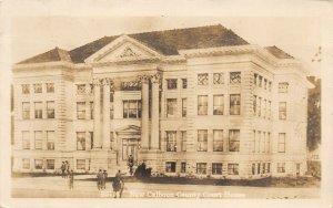 LPS77 NEW CALHOUN Iowa County Court House RPPC