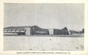 Bond County High School Greenville IL Unused