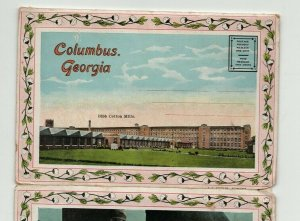 COLUMBUS GA POSTCARD PACK PC4-11