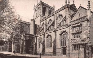 England Sherborne Abbey S.E. saxon Cathedral 1920