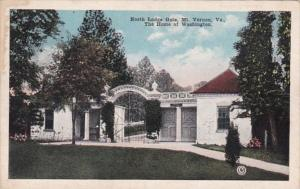 Virginia Mount Vernon North Lodge Gate 1922
