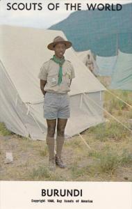 Boy Scouts of the World, BURUNDI, 1960´s