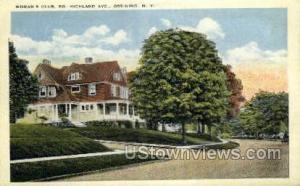Woman's Club Ossining NY Unused