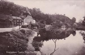 RP: Knaresboro Castle from the river , England , 1900-10s ; TUCK 1863