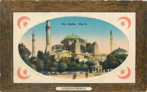 Turkey Turquie Constantinople Ste. Sophia mosque Cote Nord