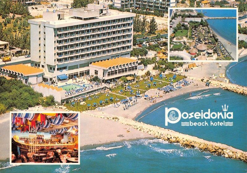 Cyprus Postcard Poseidonia Beach Hotel, Limassol #1004