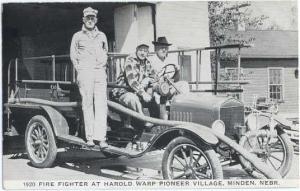 1920 Ford Fire Truck at Harold Warp Pioneer Village, Minden, Nebraska, NE