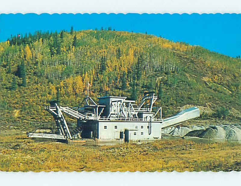 Unused Pre-1980 Mining GOLD DREDGE Dawson City Yukon Territory YT hn2688