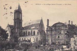 France Senlis Le college Saint-Vincent 1910