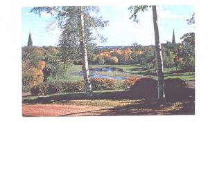 College Pond and Grounds, Mount Allison University Sackville, New Brunswick, ...