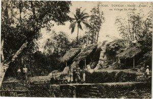 VIETNAM INDOCHINE - Tonkin - Hanoi - Fours au Village du Papier (190232)