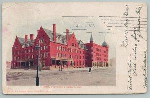 Superior Wisconsin~Hotel Superior~c1905 Postcard