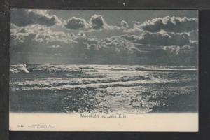 Moonlight on Lake Erie Postcard