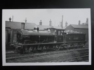 NER Steam Locomotive No.1565 RP Photocard