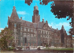 Postcard Netherlands Holland Rotterdam town hall 1919