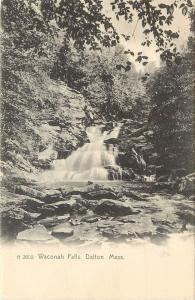 c1905 Rotograph Postcard; Waconah Falls, Dalton MA Berkshire County unposted