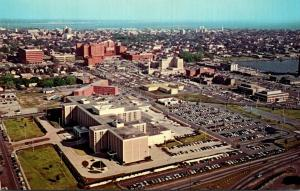 South Carolina Charleston Aerial View Of Medical Center