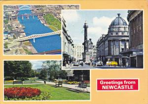 Greetings From Newcastle Multi View