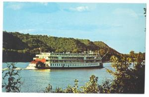 Steamboat Delta Queen Madison Indiana Chrome