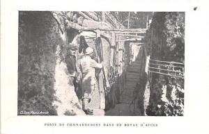 Poste de Commandment Dan sun Boyau D'Acces World War II, WW II Military Unused