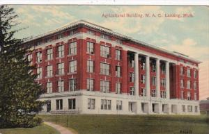 Michigan Lansing Agricultural Building Michigan Agricultural College 1913