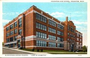 Michigan Houghton High School Curteich