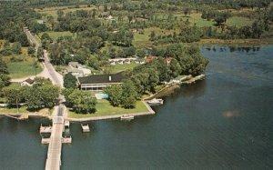 RIDEAU FERRY , Ontario, 50-60s ; Aerial View