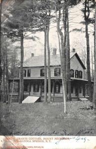 Saratiga Springs New York Grants Cottage Antique Postcard K106660