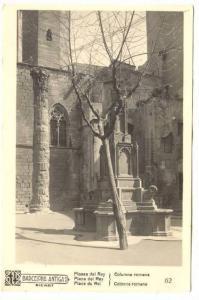 RP, Plaza Del Rey, Columna Romana, Barcelona (Catalonia), Spain, 1920-1940s