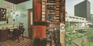 London Grocers Shop Barbers 3x London Museum Rare Postcard s