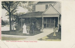 WISCONSIN Veteran's Home, 1901-07; Porch, Commandant's Residence
