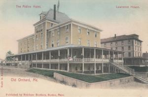 OLD ORCHARD BEACH , Maine , 00-10s ; The Aldine Hotel