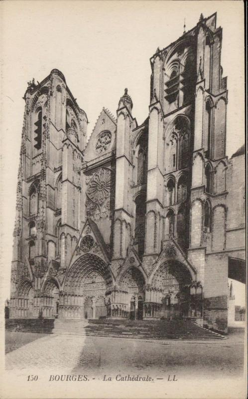 Bourges La Cathedrale church
